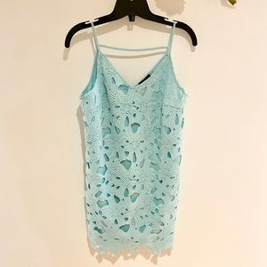 ❤️ ASTR the Label Floral Lace Mini Dress
